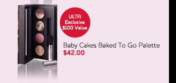 Baby Cakes Baked To Go Palette