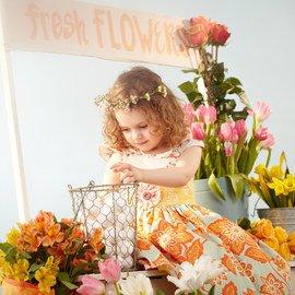 Prints All Spring: Girls' Apparel