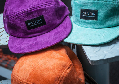Shop Hats ft. Brand New Suede RIPNDIP