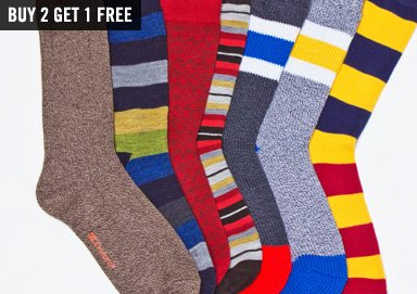 Shop Sock Stock-Up: Patterns & Stripes