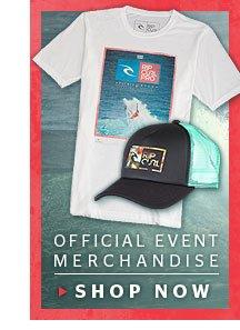 Official Event Merchandise - Shop Now