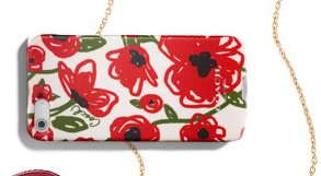 poppy floral iphone 5 case