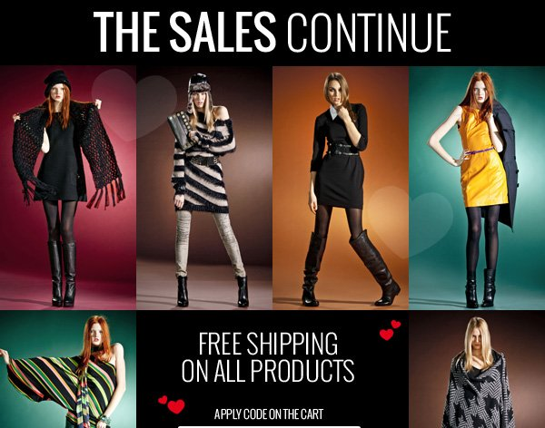 Sales & Free Shipping