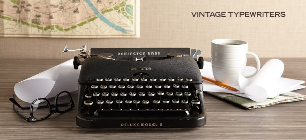 VINTAGE TYPEWRITERS, Event Ends February 13, 9:00 AM PT >
