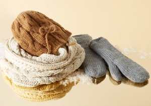 Cozy Accessories from Hat Attack & Buji Baja