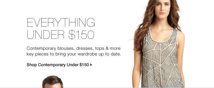 Everything Under $150