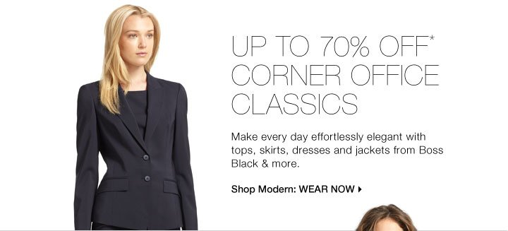 Up To 70% Off* Corner Office Classics
