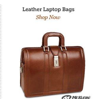 Shop Leather Laptop Bags
