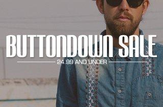 Buttondown Sale
