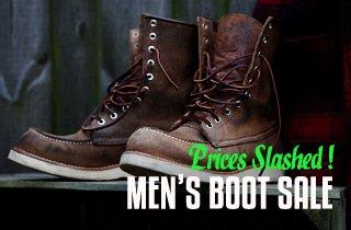 Men's Boot Sale
