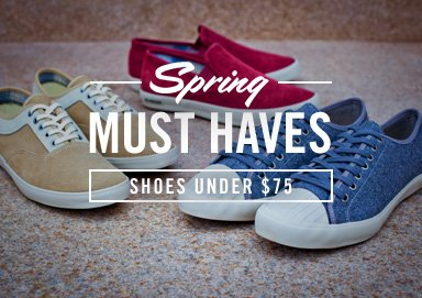 Shop Spring Must Haves: Shoes Under $75