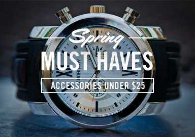 Shop Spring Musts: Accessories Under $25
