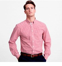 The Lions Gingham Check Casual Shirt