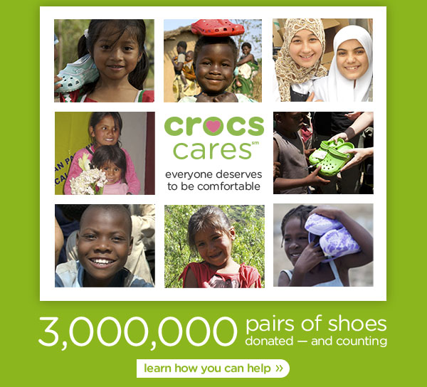 3,000,000 pairs of shoes donated — and counting - learn how you can help