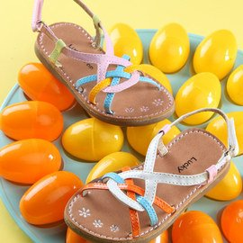 Sun Seeker: Girls' Sandals