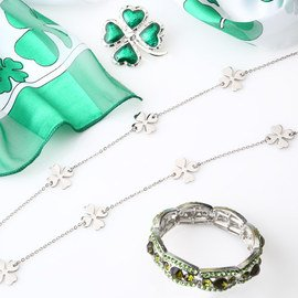 Shamrock Style: Green Accessories