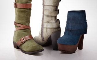 Colorful Boot Shop - Visit Event