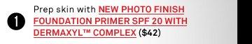 New! Photo Finish Foundation Primer SPF 20