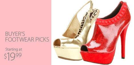 Buyer's Footwear Picks