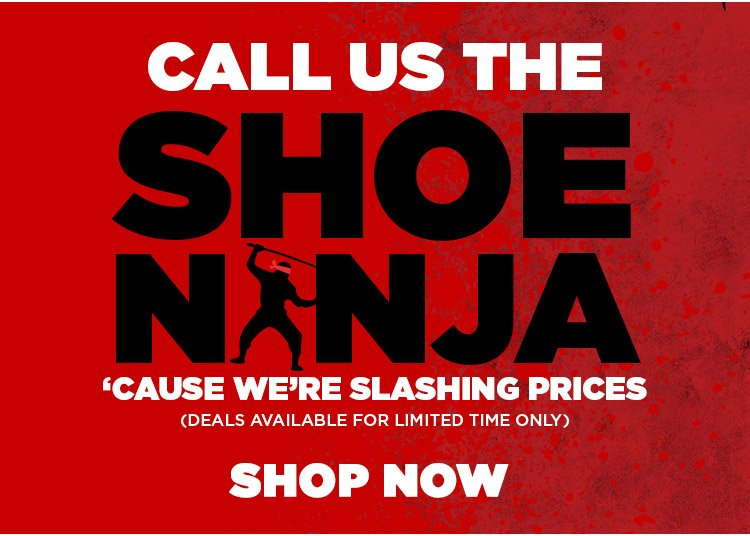 The Shoe Ninja is back in action!
