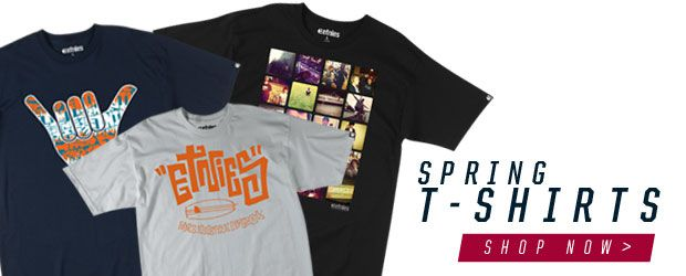 etnies Spring13 tees, now available!