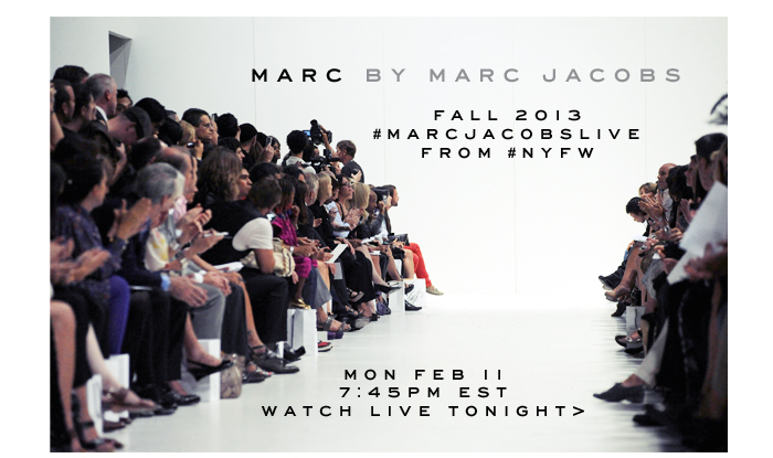 Marc Jacobs | Marc by Marc Jacobs FW13 Live