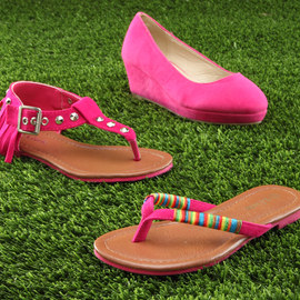 Everything Pink: Girls' Shoes
