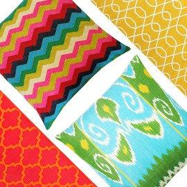 Statement Patterns: Home Textiles