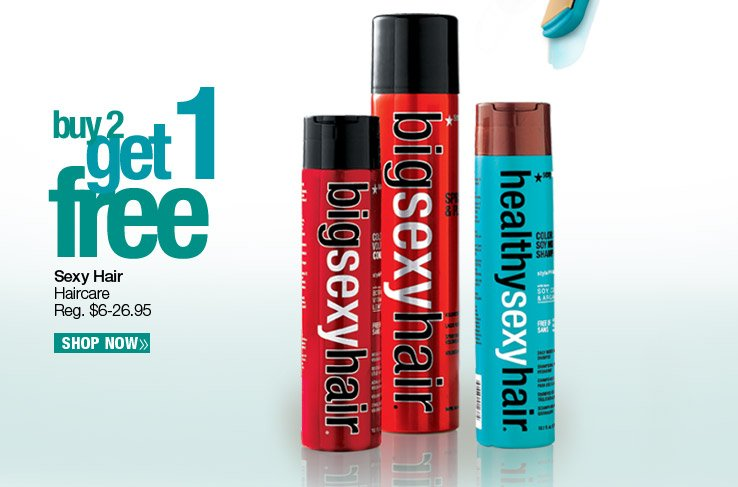 Buy 2, Get 1 Free Sexy Haircare