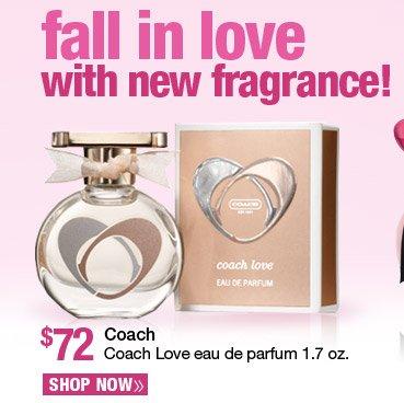 Coach Love eau de parfum 1.7 oz. - $72