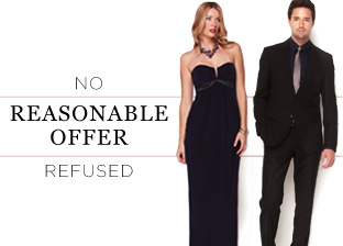 No Reasonable Offers Refused: Apparel by Badgley Mischka, Herve Leger & more