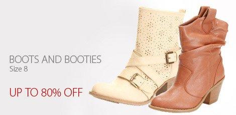 Boots and Booties Size 8 Editors Handbag