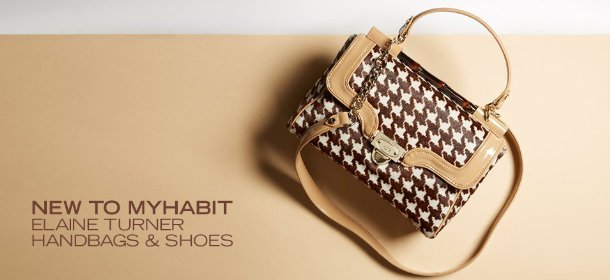 NEW TO MYHABIT: ELAINE TURNER HANDBAGS & SHOES, Event Ends February 13, 9:00 AM PT >