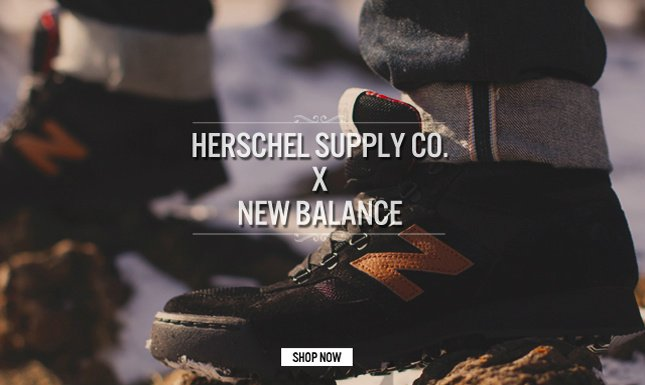 Shop the Limited Edition Herschel Supply Co. and New Balance Capsule on KL.com!