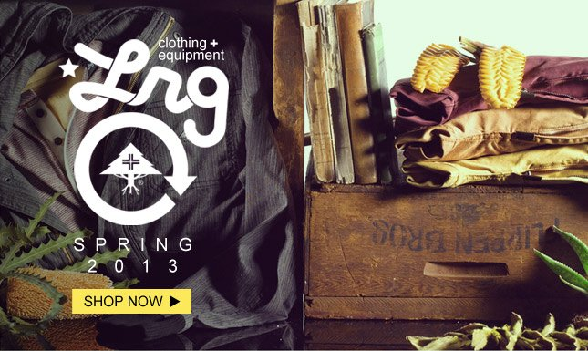 New Spring LRG just in on KL! Shop New LRG!