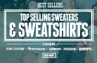 Top Selling Sweaters & Sweatshirts