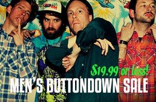 Men's Buttondown Sale