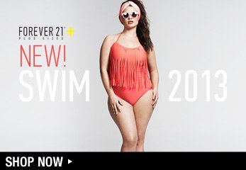 Forever 21 Plus: 2013 New Swim Collection - Shop Now