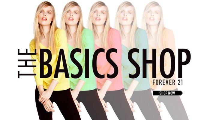 Shop New Basics - Shop Now