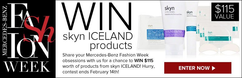 Win Skyn Iceland products