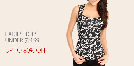 Ladies' Top under $24.99