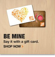 Redeem Your Holiday Gift Card at The Home Depot
