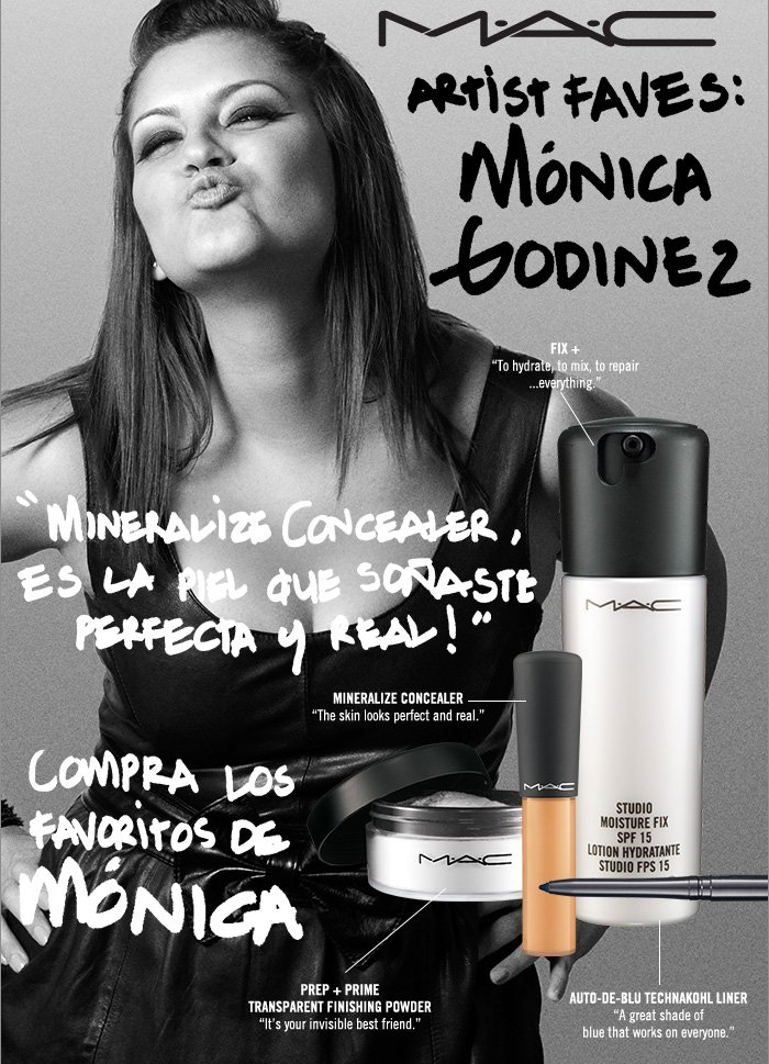 """Mineralize Concealer, the skin looks perfect and real!"" SHOP MONICA'S FAVES"