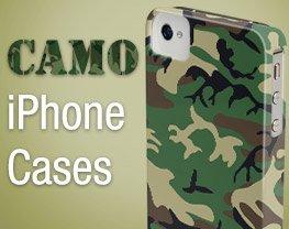 Camo iPhone Cases