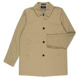 Paul Smith Coats - Taupe Water Repellant Mac