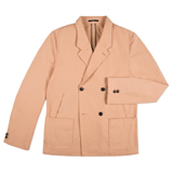 Paul Smith Jackets - Peach Double-Breasted Jacket