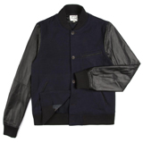 Paul Smith Jackets - Navy Bomber Jacket