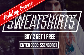 Sweatshirts: Buy 2, Get 1 Free
