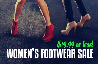 Women's Footwear Sale