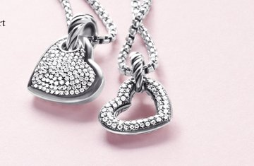 Art of the Heart. For a special love this Valentine's Day, a unique heart beautifully sculpted by David Yurman. Shop Distinctive Hearts.